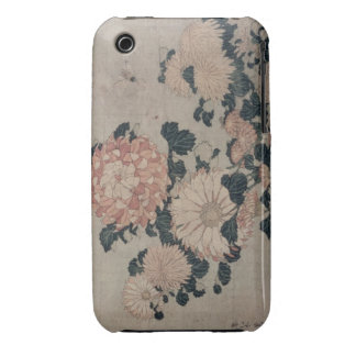 Chrysanthemums (colour woodblock) iPhone 3 covers