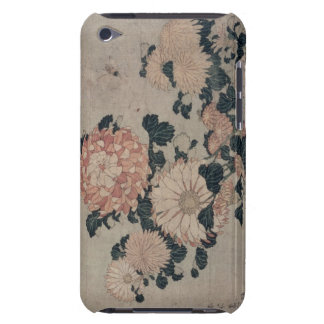 Chrysanthemums (colour woodblock) iPod touch Case-Mate case