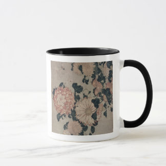Chrysanthemums (colour woodblock) mug
