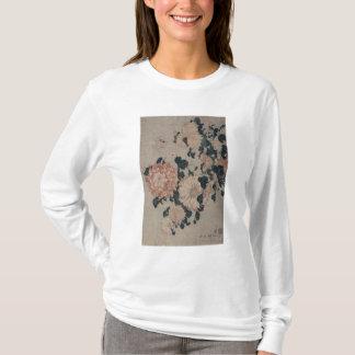 Chrysanthemums (colour woodblock) T-Shirt