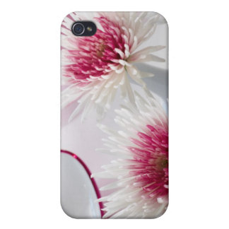 Chrysanthemums Cover For iPhone 4