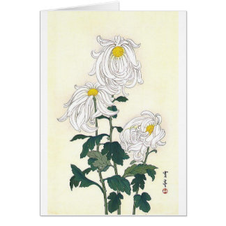 Chrysanthemums Greeting Card