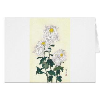 Chrysanthemums Greeting Cards
