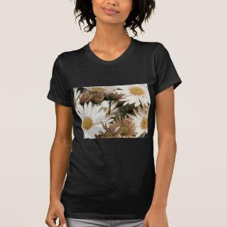 Chrysanthemums in Bloom. Emulsion Transfer T-Shirt