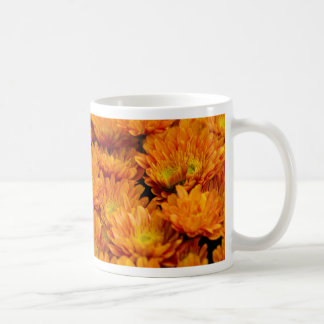 chrysanthemums in the garden coffee mug