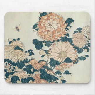 Chrysanthemums Mouse Mat