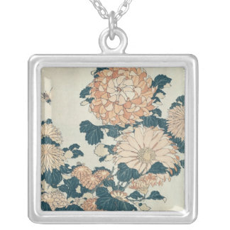 Chrysanthemums Silver Plated Necklace