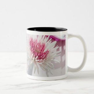 Chrysanthemums Two-Tone Coffee Mug