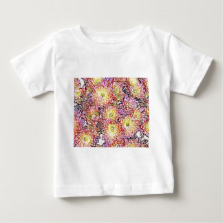 Chrysanthemums Within the Lines Infant T-Shirt