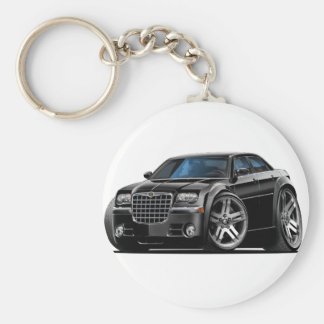 Chrysler 300 Black Car Key Ring