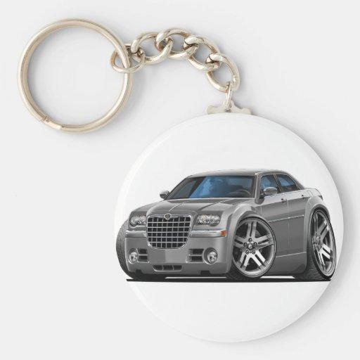 Chrysler 300 Grey Car Keychain