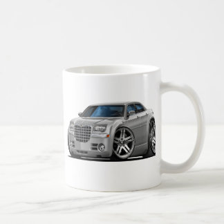 Chrysler 300 Silver Car Basic White Mug