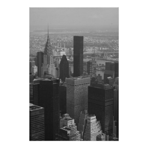 Chrysler Building and Midtown Poster