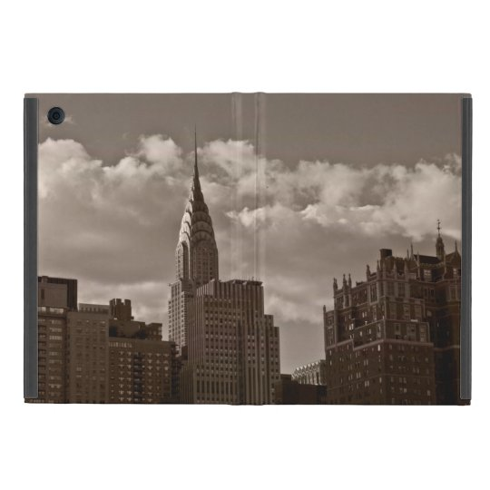 Chrysler Building and New York Skyline Cover For