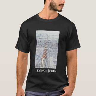 Chrysler Building Black T-Shirt
