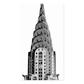 Chrysler Building Dome Pack Of Standard Business Cards