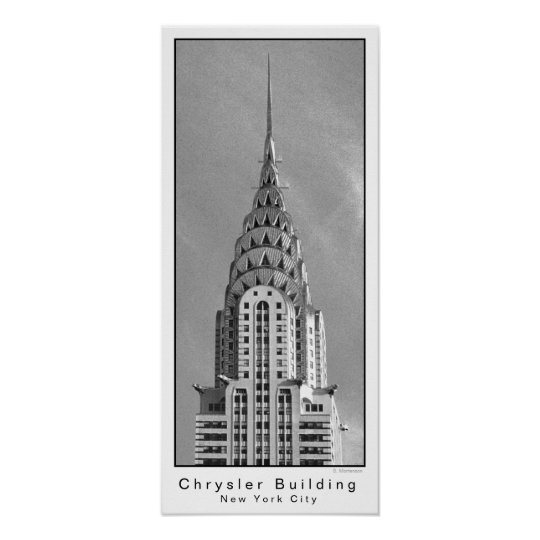 Chrysler Building / New York City Poster