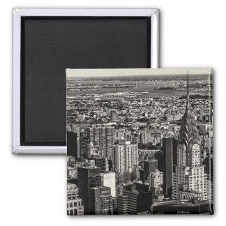 Chrysler Building New York City Skyline Landscape Fridge Magnet