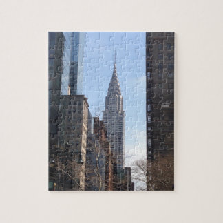 Chrysler Building New York City Skyscraper Midtown Jigsaw Puzzle
