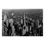 Chrysler Building New York Manhattan Poster