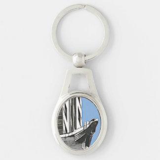 Chrysler Building, New York, NY Keychains