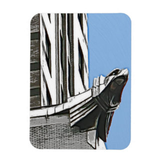 Chrysler Building NYC Rectangle Magnets