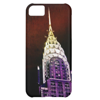 Chrysler Building - Purple and Red - NYC iPhone 5C Cases