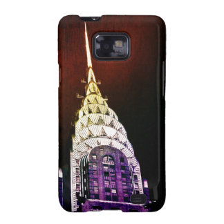 Chrysler Building - Purple and Red - NYC Galaxy SII Case