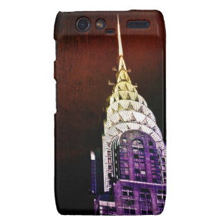 Chrysler Building - Purple and Red - NYC Droid RAZR Covers