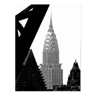Chrysler Building Spire Postcard