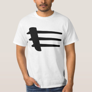 Chrysler Crossfire Side Strake Basic White T-Shirt