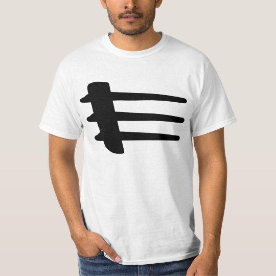 Chrysler Crossfire Side Strake Basic White T-Shirt