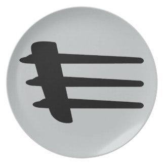 Chrysler Crossfire Side Strake Melamine Plate