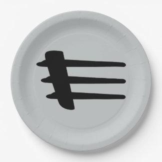 Chrysler Crossfire Side Strake Paper Plates