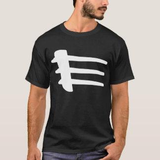 Chrysler Crossfire White Side Strake Basic T-Shirt
