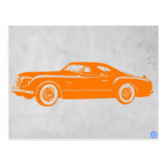 Chrysler Vintage Orange Postcards