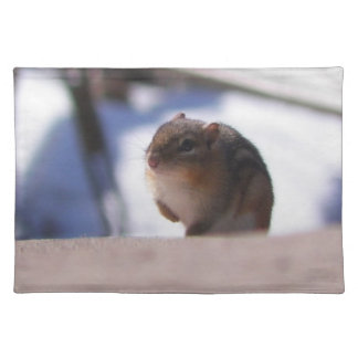 Chubbers the Chipmunk Placemat