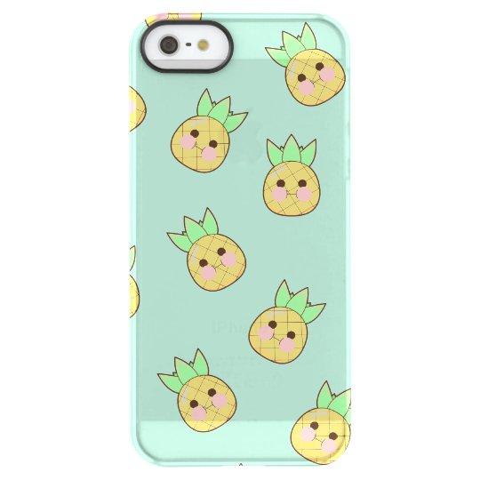 Chubbi Pineapple Pattern (textless) Permafrost® iPhone SE/5/5s