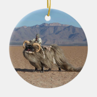 Chubbs The  Banthapug Ornament
