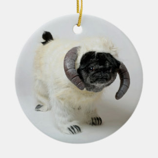 Chubbs The Wampug Christmas Ornament