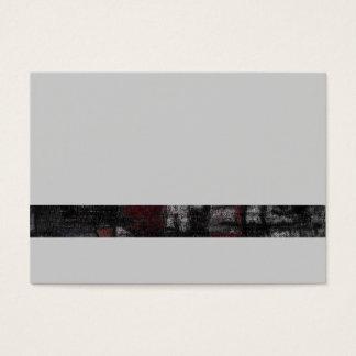 "Chubby, 8.9 cm x 6.4 cm, 100 pack, ""Tango grey"" Business Card"