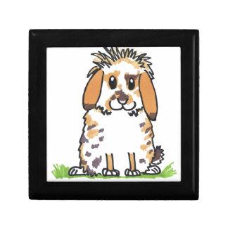 Chubby bunny 'Holly' Design Gift Box