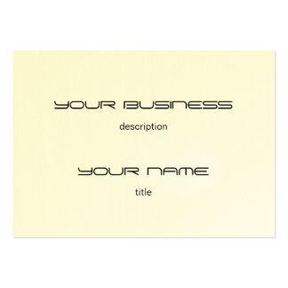 Chubby Business Card Template Premium  Eggshell