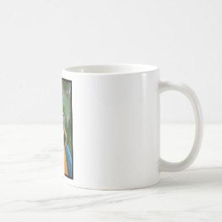 Chubby Cheeked Blue and Gold Macaw Coffee Mug