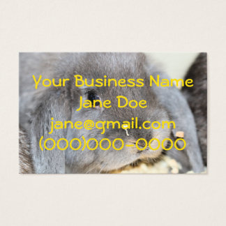 Chubby Cheeks Business Card
