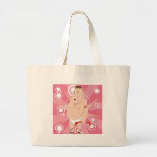 Chubby Cupid Canvas Bag