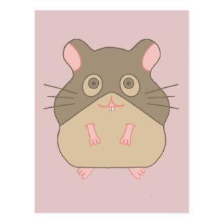 Chubby Hamster Postcard