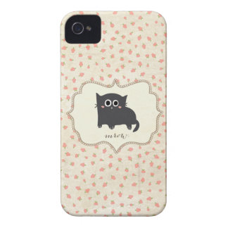 Chubby Kitty iPhone 4 Cases