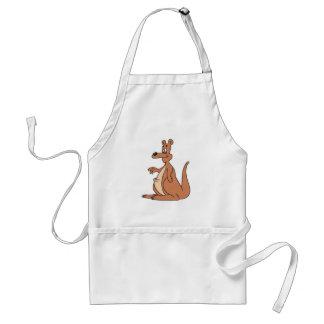 chubby little kangaroo standard apron
