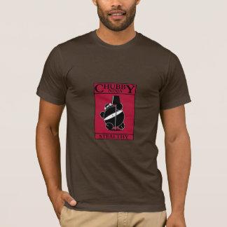 Chubby Ninja - Stealthy (Red) T-Shirt